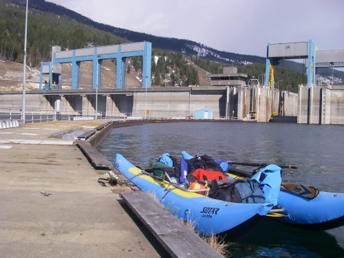 Keenleyside Dam, British Columbia, Canada.